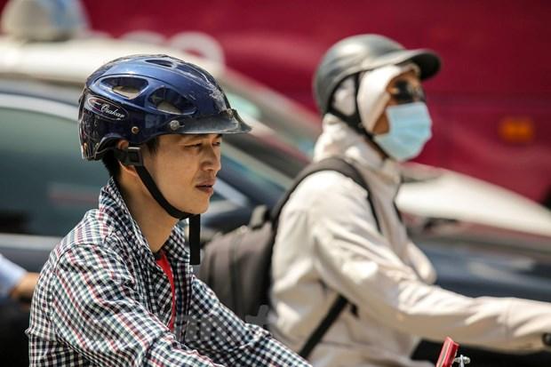 Nang nong bao trum Bac Bo va Trung Bo, co noi tren 38 do C hinh anh 1