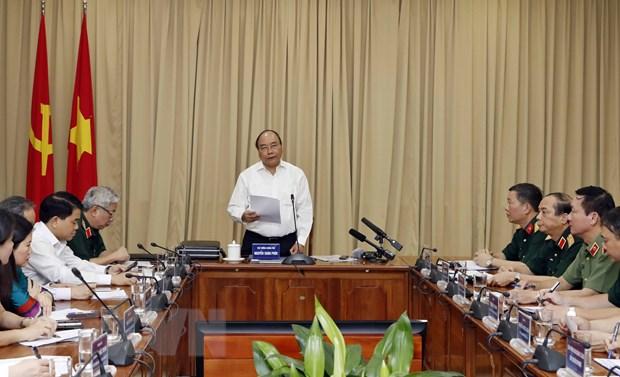 Thu tuong kiem tra cong tac tu bo Lang Chu tich Ho Chi Minh hinh anh 2