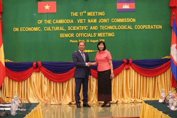 Viet Nam-Campuchia tich cuc chuan bi cho ky hop 17 Uy ban hon hop hinh anh 1