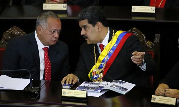 My dang tien hanh doi thoai cap cao voi cac quan chuc Venezuela hinh anh 1
