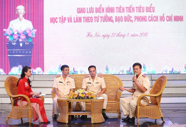 Hoc tap va lam theo Bac, luc luong cong an lap nhieu chien cong hinh anh 1