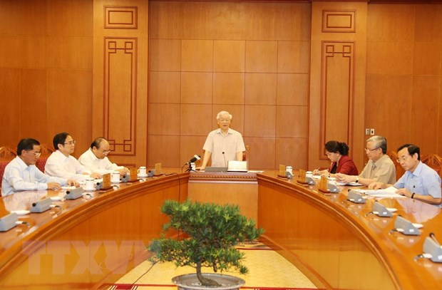 Tổng Bí thư, Chủ tịch nước chủ trì họp Tiểu ban Nhân sự Đại hội Đảng - Ảnh minh hoạ 2