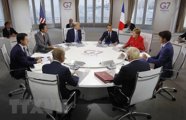 Hoi nghi G7 ket thuc, dat dong thuan ve mot so van de quoc te hinh anh 1