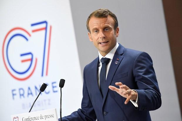 Hoi nghi thuong dinh G7: Phap ra tuyen bo ve nhieu van de nong hinh anh 1