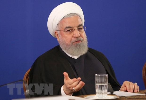 Tong thong Iran Hassan Rouhani de cap kha nang gap Tong thong My hinh anh 1
