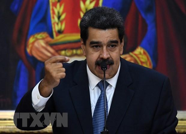 Tong thong Venezuela de xuat xay dung co che doi thoai voi phe doi lap hinh anh 1