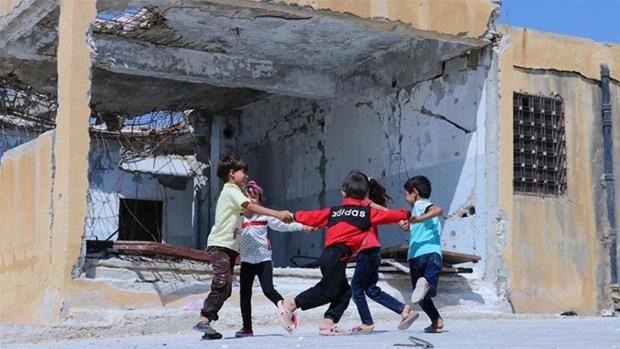 Hang nghin tre em o Syria co the khong duoc don nam hoc moi hinh anh 1