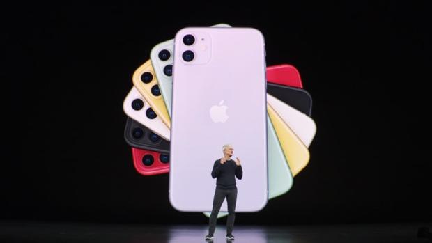 Apple chinh thuc ra mat bo ba iPhone 11 moi, nang cap camera hinh anh 1