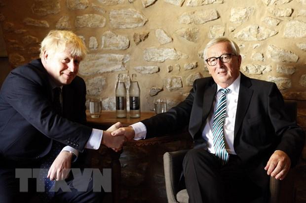 Thu tuong Anh Boris Johnson lac quan ve mot thoa thuan voi EU hinh anh 1