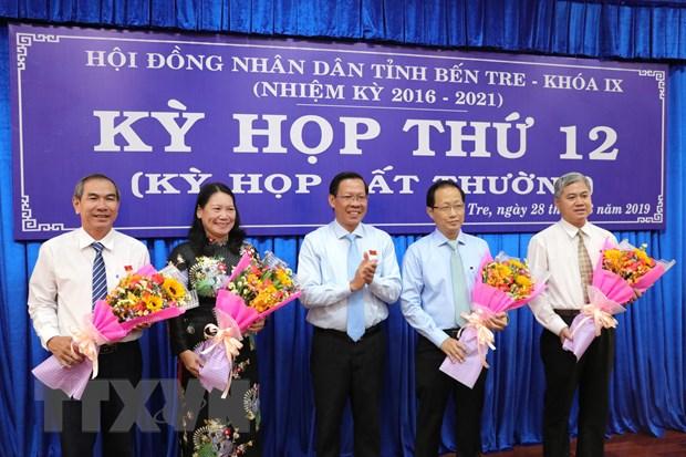 Thu tuong phe chuan bau bo sung hai Pho Chu tich tinh Ben Tre hinh anh 1