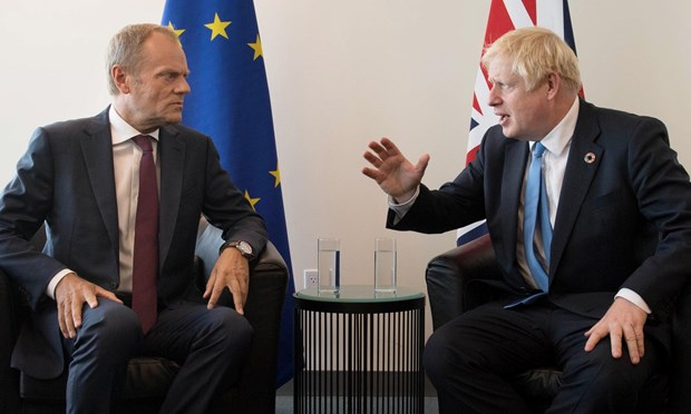 Khong co dot pha trong cuoc gap giua lanh dao Anh va EU ve Brexit hinh anh 1
