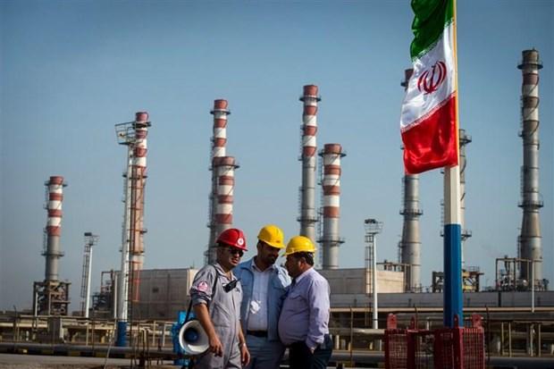 Iran len ke hoach xay dung kho cang dau moi ngoai vung Vinh hinh anh 1
