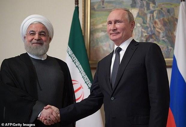 Lanh dao Iran, Nga thao luan sang kien an ninh o Eo bien Hormuz hinh anh 1