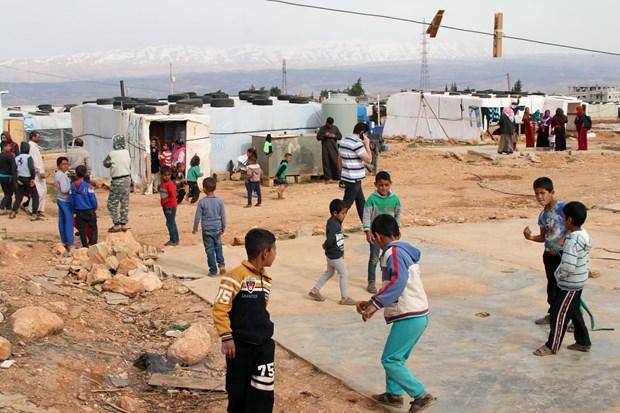 Syria keu goi nguoi ti nan o Jordan tro ve que huong hinh anh 1