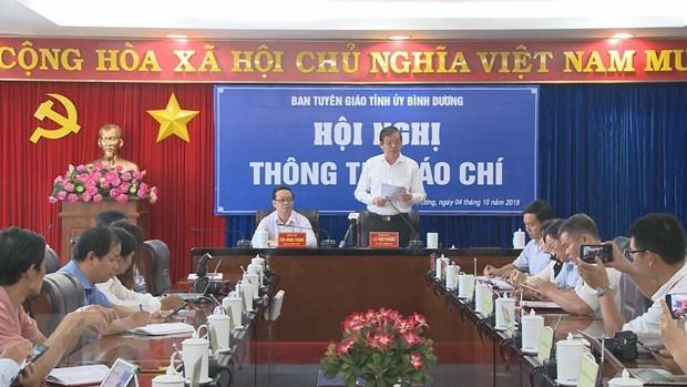 Binh Duong thong tin ve viec ban 43ha dat cong o du an Tan Phu hinh anh 1
