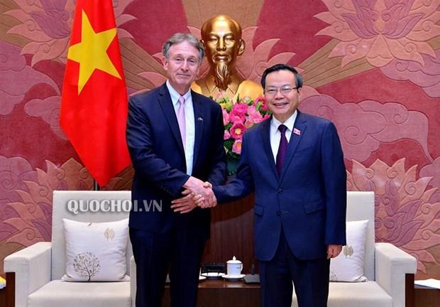 Pho Chu tich Quoc hoi tiep Chu tich Hoi dong Kinh doanh EU-ASEAN hinh anh 1