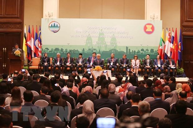 Khai mac Hoi nghi cap bo truong ASEAN ve moi truong lan thu 15 hinh anh 1