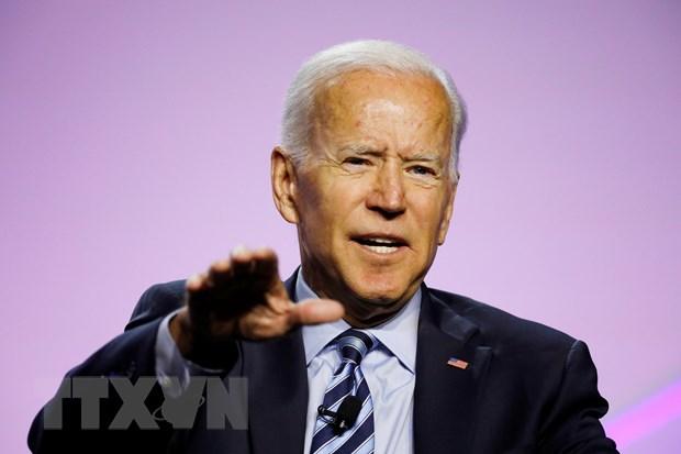 Bau cu o My: Ong Joe Biden tiep tuc dan dau tham do du luan hinh anh 1