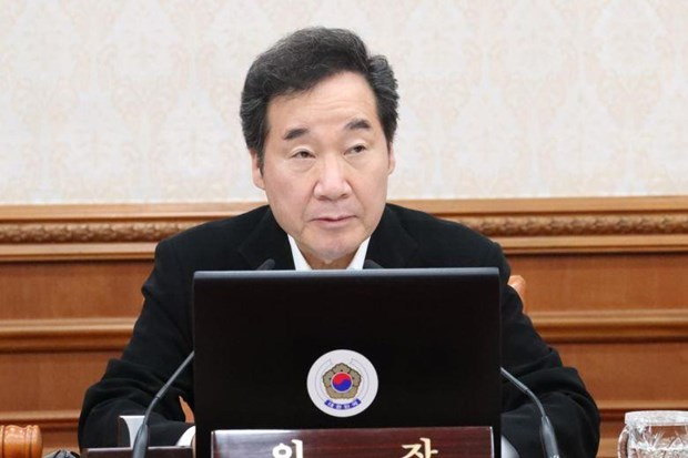 Han Quoc: Thu tuong thay tong thong du le dang co cua Nhat Hoang hinh anh 1