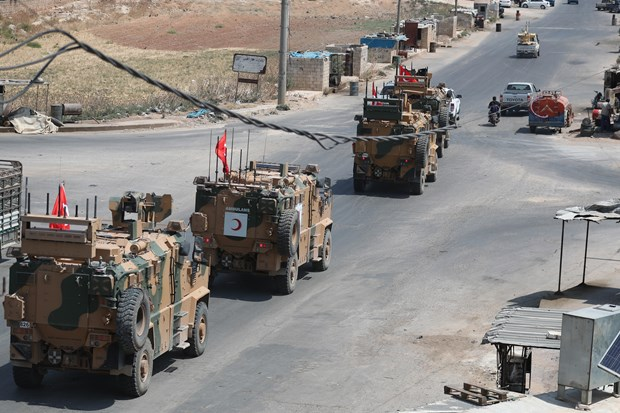 Iran va Sec phan doi Tho Nhi Ky tan cong nguoi Kurd o mien Bac Syria hinh anh 1