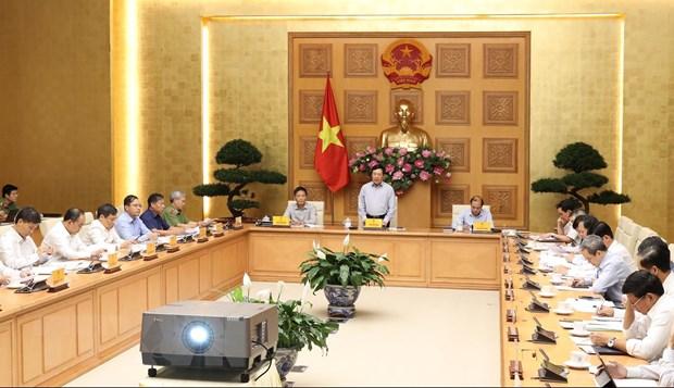 Pho Thu tuong Pham Binh Minh chu tri phien hop Uy ban Quoc gia ASEAN hinh anh 1