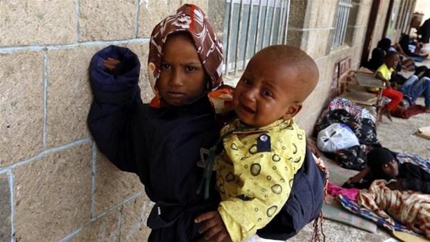 Hang nghin tre em Yemen bi sat hai vi noi chien trong 5 nam qua hinh anh 1