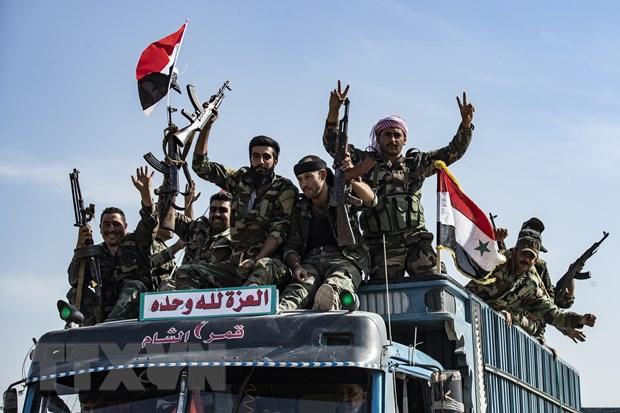 Chinh phu Syria trien khai quan doi den bien gioi phia Bac hinh anh 1