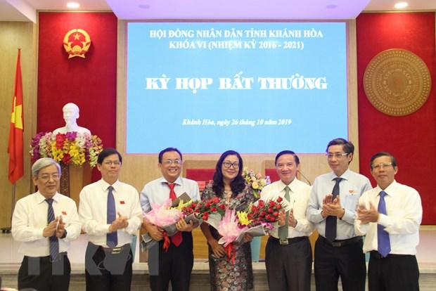 Ong Le Huu Hoang duoc bau giu chuc vu Pho Chu tich tinh Khanh Hoa hinh anh 1