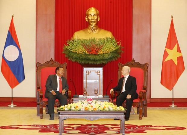 'Lao mai mai ghi nho va biet on vo han quan tinh nguyen Viet Nam' hinh anh 1