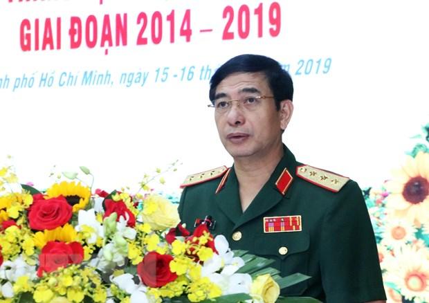 Thuong tuong Phan Van Giang tham chinh thuc Vuong quoc Campuchia hinh anh 1