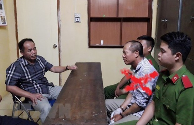 Ha Noi: Truy to doi tuong tham sat ca nha em trai o Dan Phuong hinh anh 1