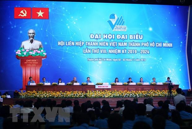 Khai mac Dai hoi dai bieu Hoi Lien hiep Thanh nien TPHCM hinh anh 1