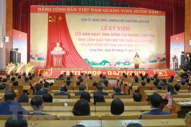 Ky niem 110 nam ngay sinh nha lanh dao tien boi Hoang Van Thu hinh anh 1