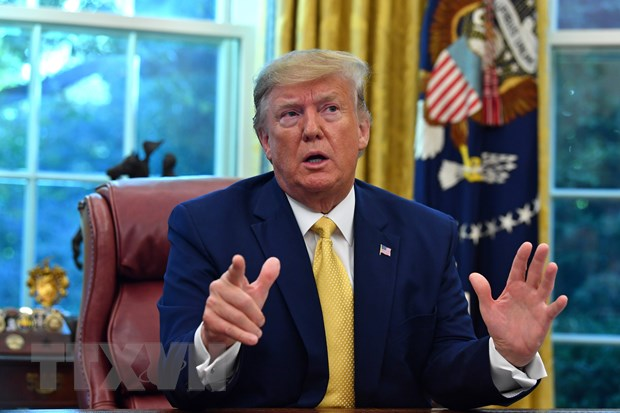 'Phep thu' voi Tong thong My Trump truoc cuoc bau cu nam 2020 hinh anh 1