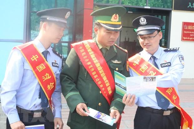 Viet Nam-Trung Quoc nang cao chat luong kiem soat bien phong hinh anh 1