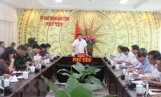 Ung pho voi bao so 6: Phu Yen san sang phuong an ho tro, ung cuu dan hinh anh 1