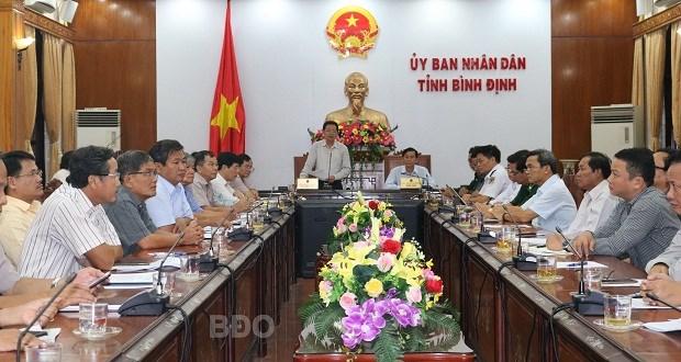 Binh Dinh hoan tat ca cuoc hop de tap trung ung pho voi bao so 6 hinh anh 1