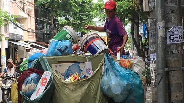 TP Ho Chi Minh: Tiep tuc chuyen doi duong day thu gom rac dan lap hinh anh 1