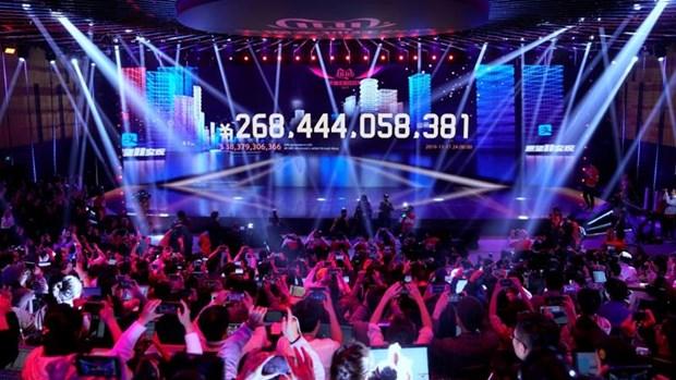Doanh thu Ngay Doc than 2019 cua Alibaba dat 38,3 ty USD hinh anh 1