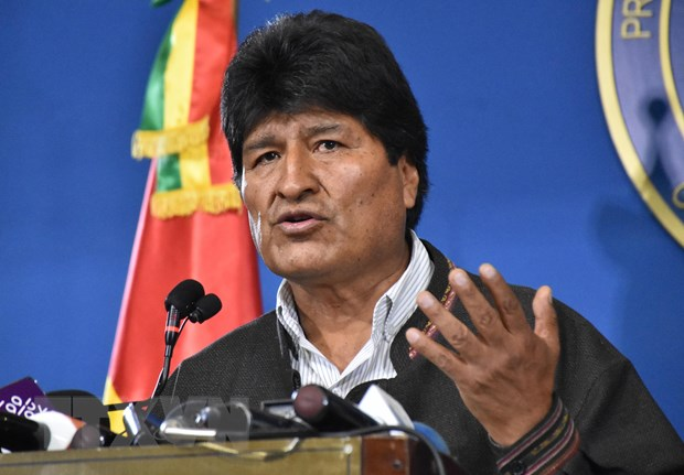 Quoc hoi Bolivia nhan thu tu chuc cua Tong thong Evo Morales hinh anh 1