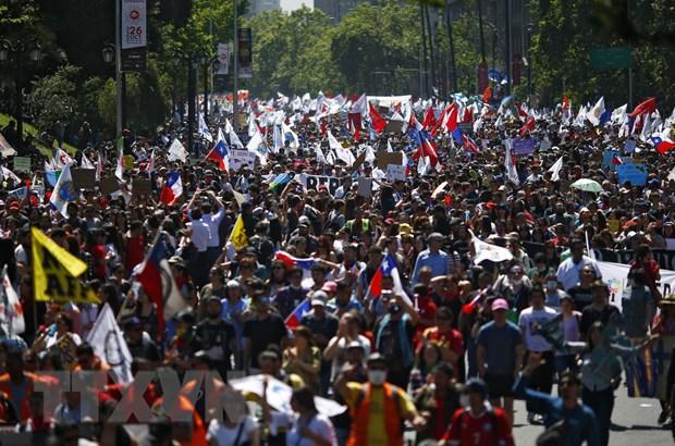 Chile: Phe doi lap phan doi de xuat lo trinh soan thao Hien phap moi hinh anh 1