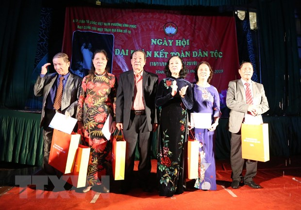 Truong ban Dan van Trung uong du Ngay hoi Dai doan ket toan dan toc hinh anh 1