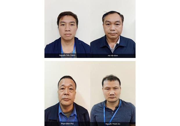 Khoi to 4 bi can gay sai pham trong du an cao toc Da Nang-Quang Ngai hinh anh 1