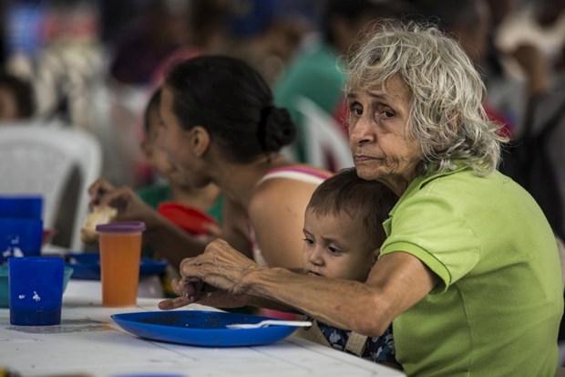 Khung hoang nguoi ti nan Venezuela buoc sang giai doan moi hinh anh 1