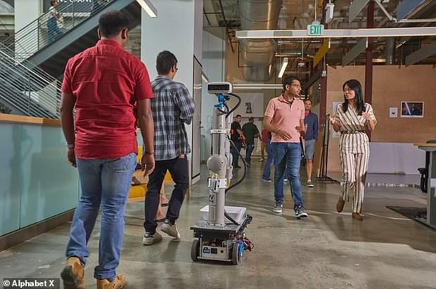 Google dat duoc buoc tien trong huan luyen robot van phong hinh anh 1