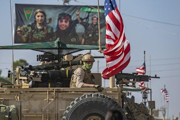 SDF va lien quan tai trien khai luc luong o mot so thanh pho o Syria hinh anh 1