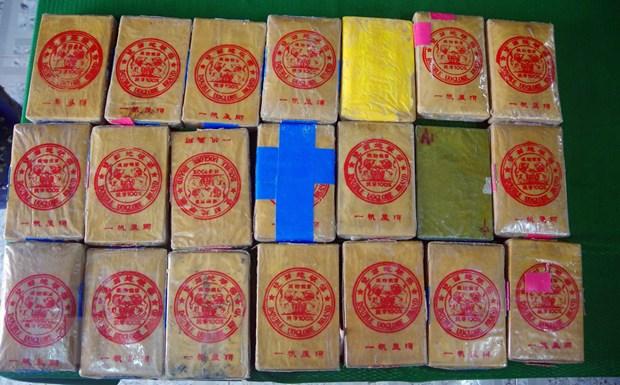 Thua Thien-Hue: Tiep tuc phat hien 21 banh nghi la ma tuy o bai bien hinh anh 1