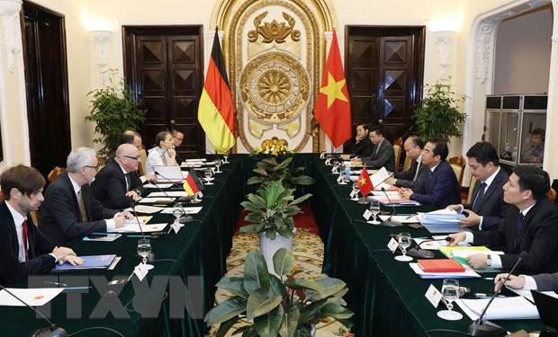 Hop Nhom dieu hanh chien luoc Viet Nam-Duc lan thu 5 hinh anh 1