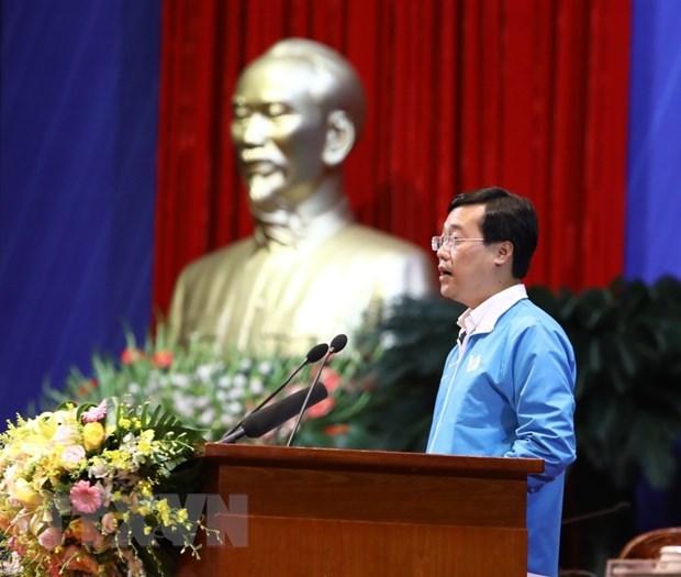 Khai mac Dai hoi dai bieu toan quoc Hoi Lien hiep Thanh nien Viet Nam hinh anh 1