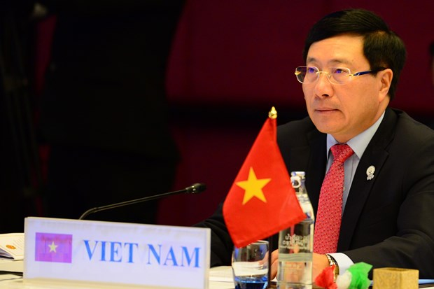 Pho Thu tuong Pham Binh Minh du Hoi nghi Bo truong Ngoai giao ASEM hinh anh 1